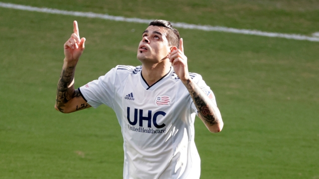 New England Revolution MLS Gustavo Bou