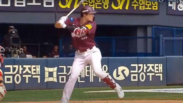 Korean baseball star Ha-Seong Kim