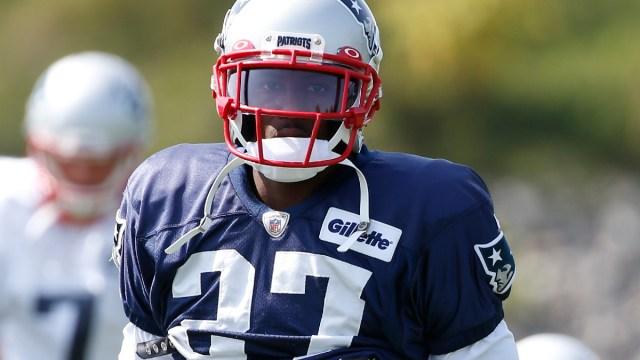 New England Patriots defensive back J.C. Jackson