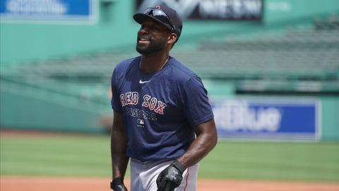 MLB Free Agent center fielder Jackie Bradley Jr.