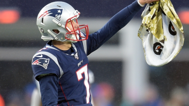 New England Patriots punter Jake Bailey