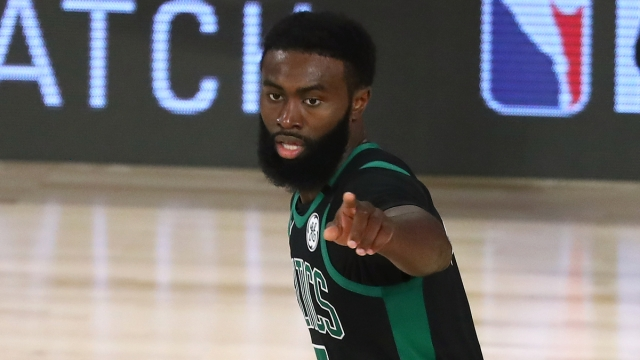 Boston Celtics Wing Jaylen Brown