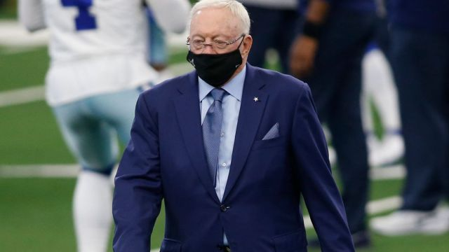 Dallas Cowboys owner Jerry Jones