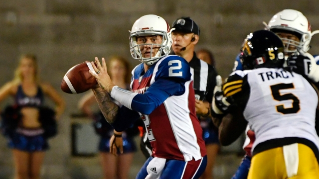 Montreal Alouettes CFL Johnny Manziel