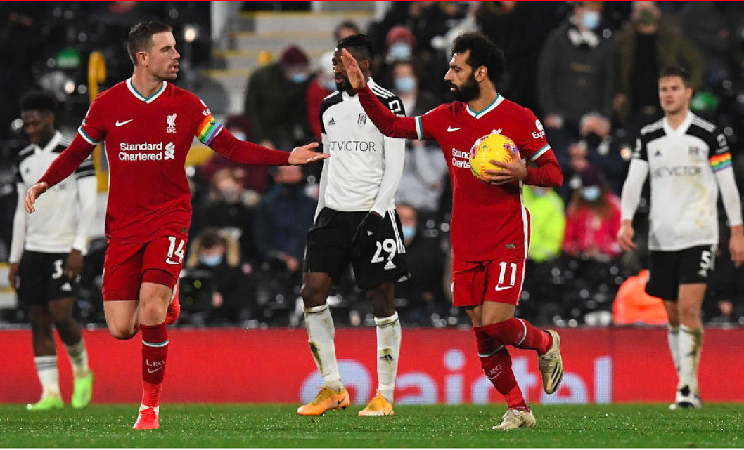 Liverpool Vs. Fulham: Mohamed Salah Scores, Reds Pick Up Point With Draw