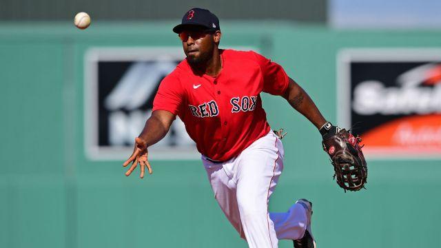 Boston Red Sox first baseman Josh Ockimey