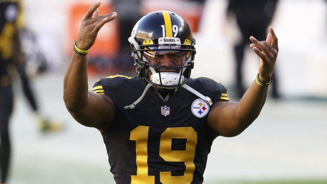 Steelers wide receiver JuJu Smith-Schuster
