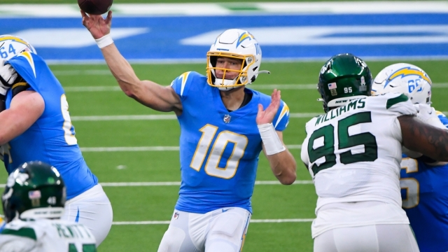 Los Angeles Chargers NFL Justin Herbert