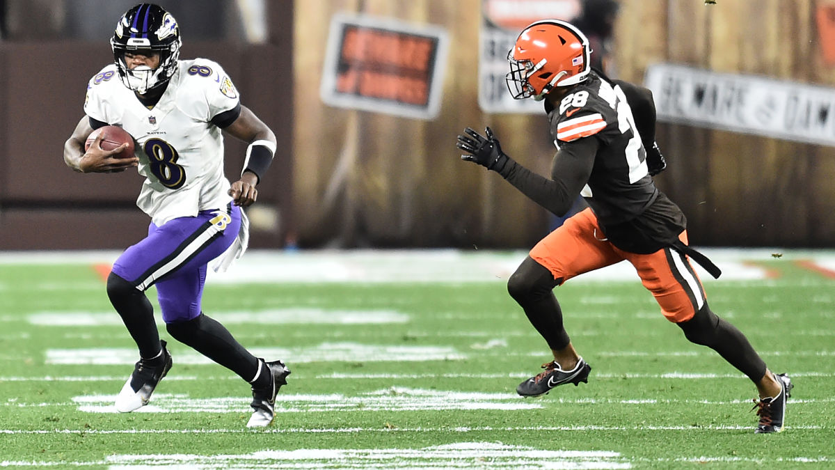 Lamar Jackson Doubles Down On Reason For Exiting Ravens-Browns Game - NESN.com