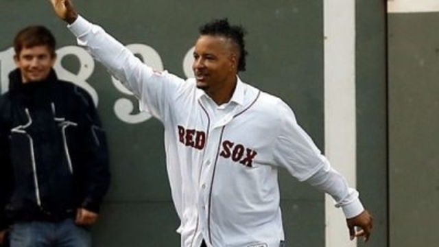 Former Boston Red Sox outfielder Manny Ramirez