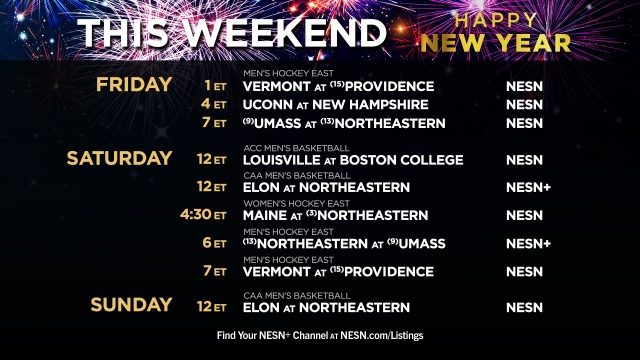 NESN New Year College Sports