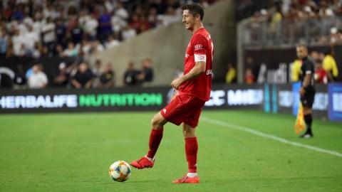 Bayern Munich forward Robert Lewandowski