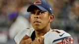 Chicago Bears place kicker Roberto Aguayo