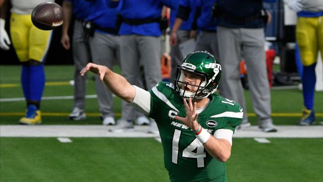 New York Jets quarterback Sam Darnold