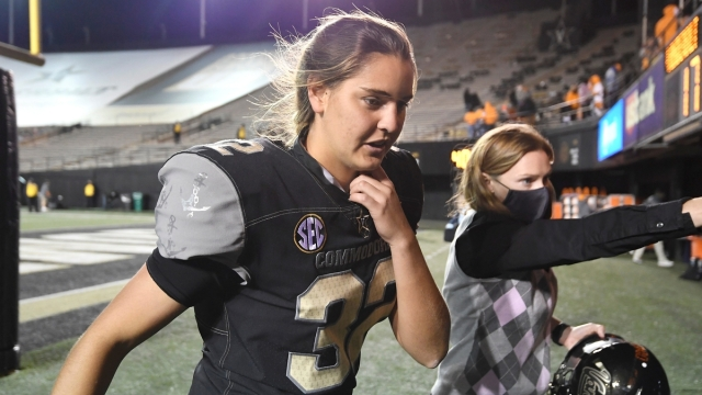 Vanderbilt Commodores Soccer Player Sarah Fuller