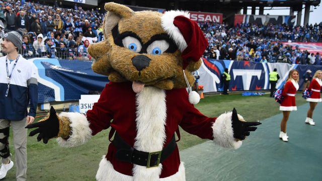 Tennessee Titans mascot