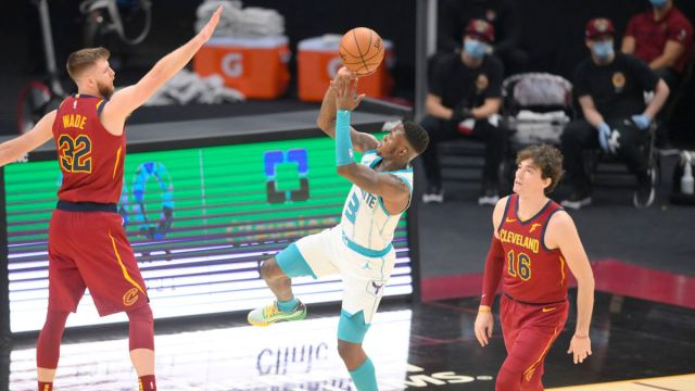 Charlotte Hornets point guard Terry Rozier