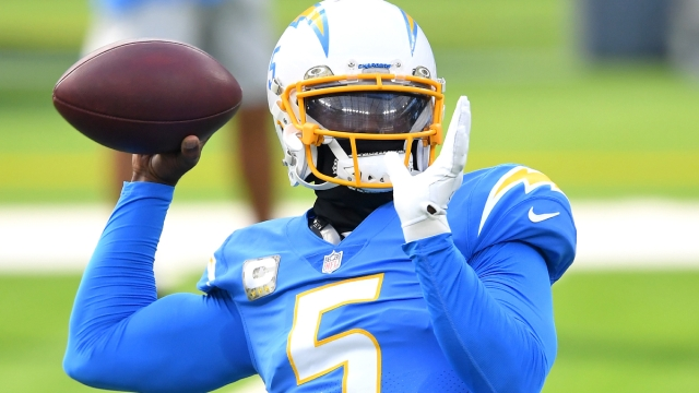 Los Angeles Chargers quarterback Tyrod Taylor