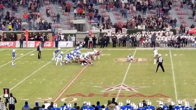 Alabama high school football game between Thompson against Auburn