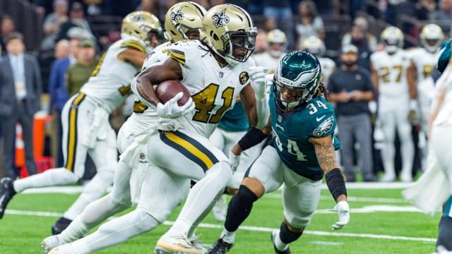 New Orleans Saints running back Alvin Kamara