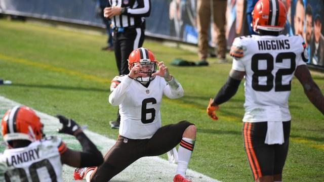 Cleveland Browns quarterback Baker Mayfield