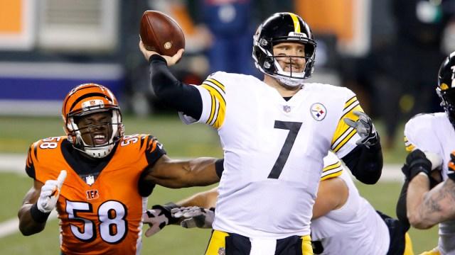 Pittsburgh Steelers quarterback Ben Roethlisberger