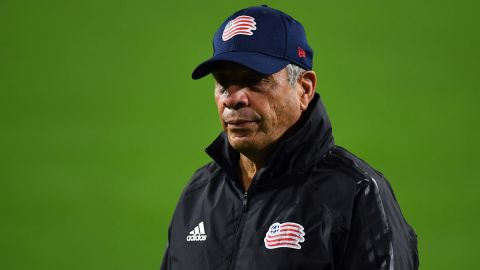 New England Revolution head coach Bruce Arena