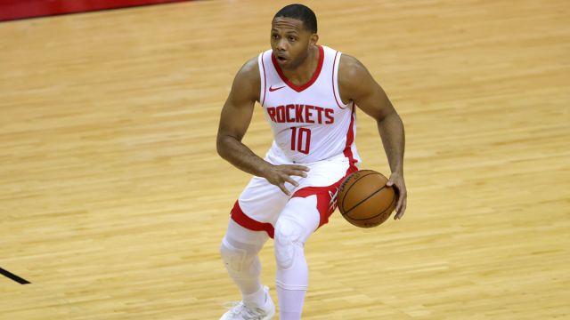 Houston Rockets guard Eric Gordon