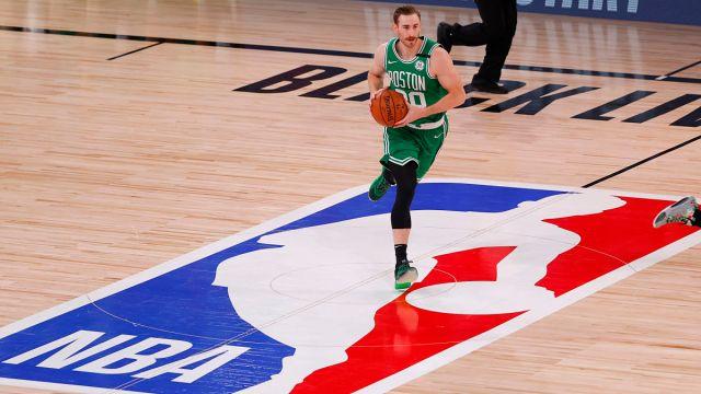 Former Boston Celtics forward Gordon Hayward
