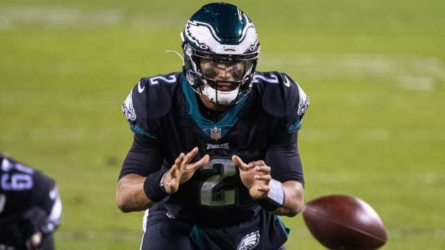 Philadelphia Eagles quarterback Jalen Hurts