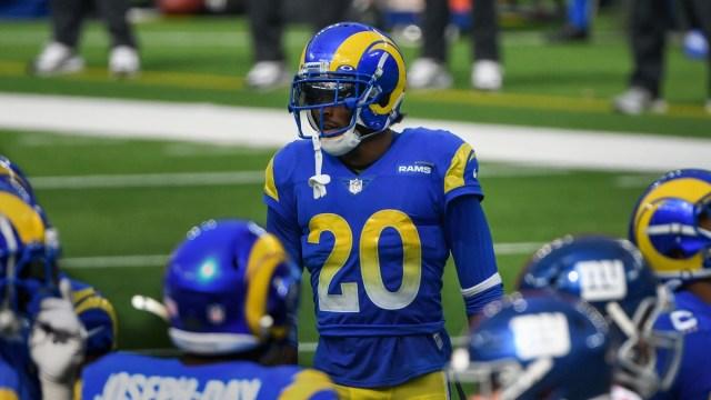 Los Angeles Rams cornerback Jalen Ramsey