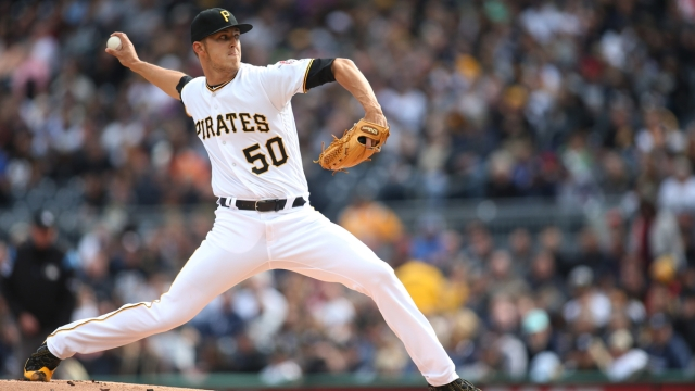 Pittsburgh Pirates pitcher Jameson Taillon