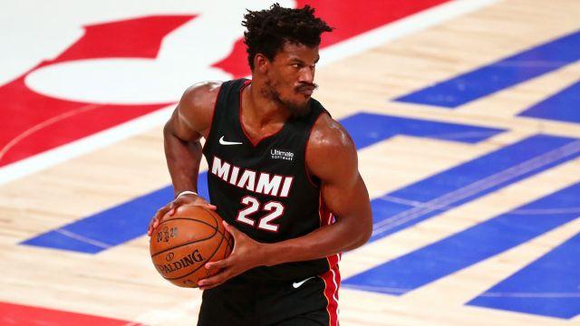 Miami Heat guard Jimmy Butler