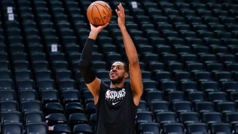 San Antonio Spurs forward LaMarcus Aldridge