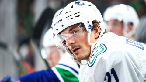 Vancouver Canucks winger Loui Eriksson