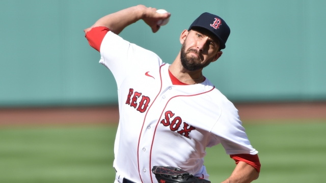 Boston Red Sox relief pitcher Matt Barnes