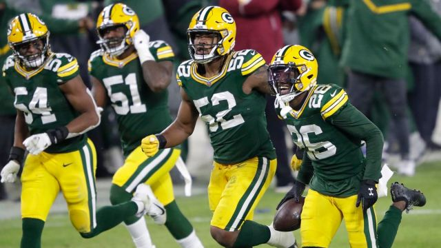 Green Bay Packers safety Darnell Savage