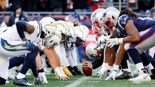 Los Angeles Chargers, New England Patriots