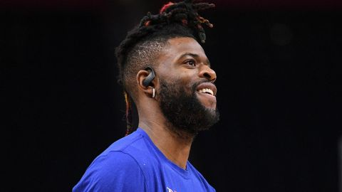 New York Knicks guard Reggie Bullock