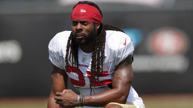 San Francisco 49ers cornerback Richard Sherman