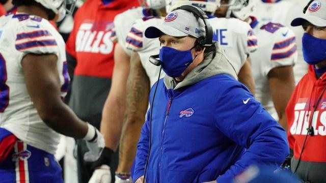 Buffalo Bills head coach Sean McDermott