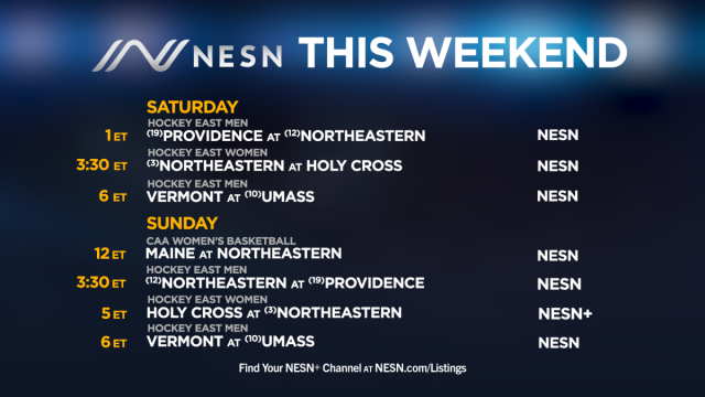 College sports on NESN