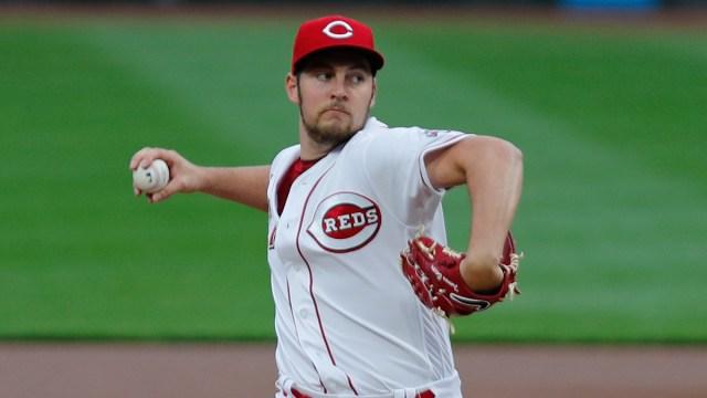 Cincinnati Reds pitcher Trevor Bauer