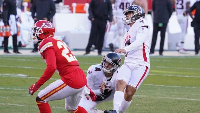Atlanta Falcons kicker Younghoe Koo