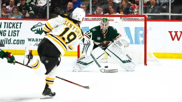 Boston Bruins winger Zach Senyshyn
