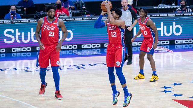 Philadelphia 76ers power forward Tobias Harris