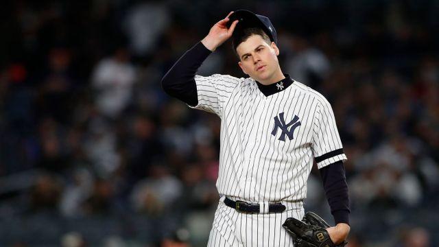 New York Yankees pitcher Adam Ottavino