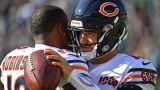Chicago Bears wide receiver Allen Robinson and quarterback Mitchell Trubisky