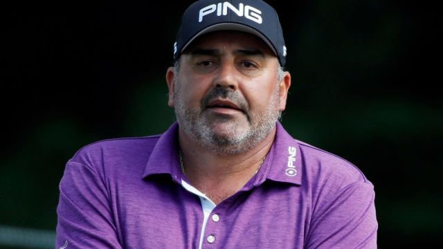 Professional Golfer Angel Cabrera
