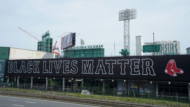 Black Lives Matter Fenway Park